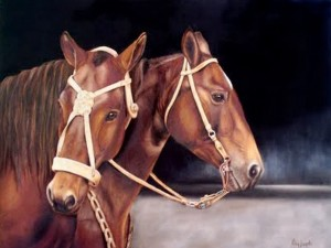 arte-caballo-dibujo-oleo